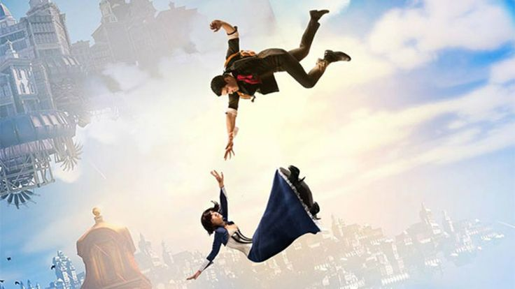 Elizabeth and Booker, Bioshock Infinite, by Eve Beauregard and Nathan DeLuca, photos by What A Big Camera and Shaun Simpson.