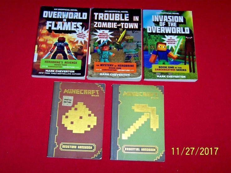 5 minecraft books gameknight999 3 and handbooks 2 mark