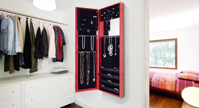 Jewelry storage.
