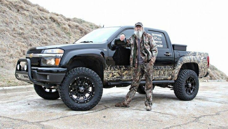 Si And His Chevy Colorado Duck Dynasty Pinterest