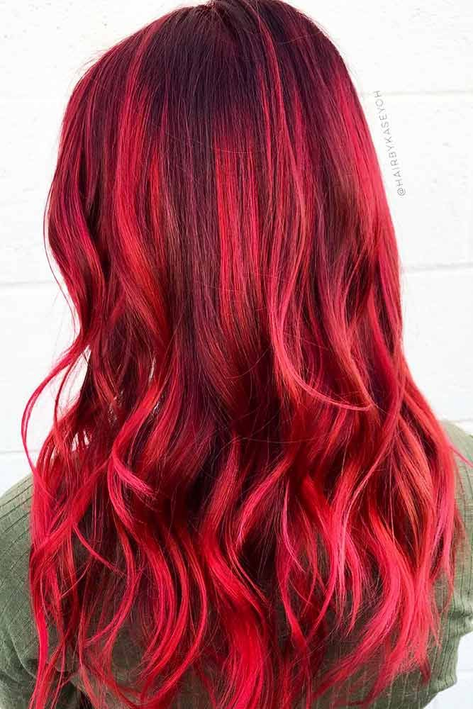 24 Burgundy Hair Styles Find The Best Shade For Your Skin Tone Color Options Pinterest And