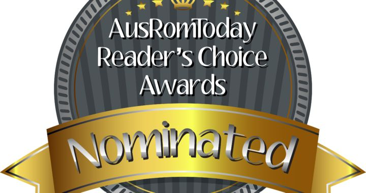 AusRomToday Reader's Choice Awards Nomination badge - Cassandra O'Leary nominated for Best New Author following release of debut novel, Girl on a Plane