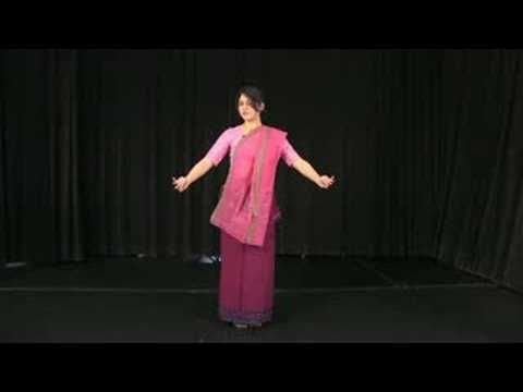 Indian Manipuri Dance : First Position for Manipuri Dance