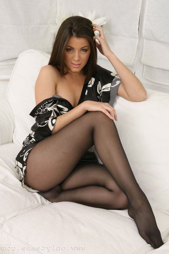 Sexy legs black stockings intelligible