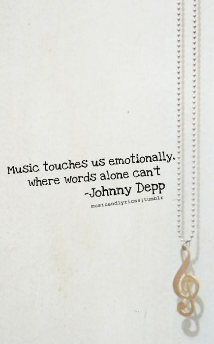 Johnny Depp talking about music?  Yes please.