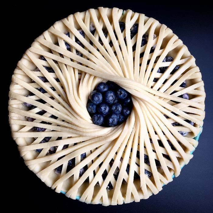 This Woman Takes Pie Baking To Another Level. https://www.boredpanda.com/beautiful-pies-lauren-ko-lokokitchen/ Amazing gallery. Check it out!