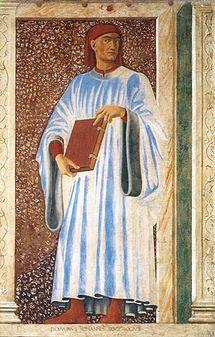 Andrea del Castagno - Giovanni Boccaccio c. 1450