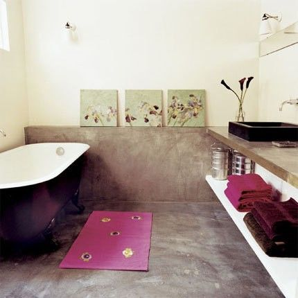 love the colors and the sink area