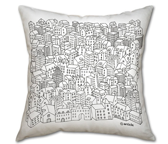 Black and White Pillow: Pillows Cushions Coussin, Cities Pillows Repin, Pillows Jasmine, Cool Pillows, Kussen Pillows, Pillows Repin By Pinterest, White Pillows, Pillows Crushes