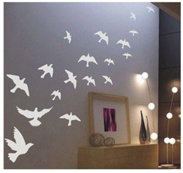 vogels die wegvliegen