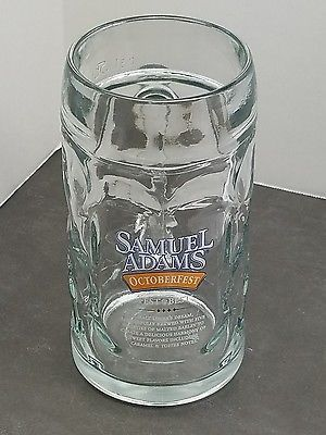 Samuel Adams Octoberfest Beer Stein