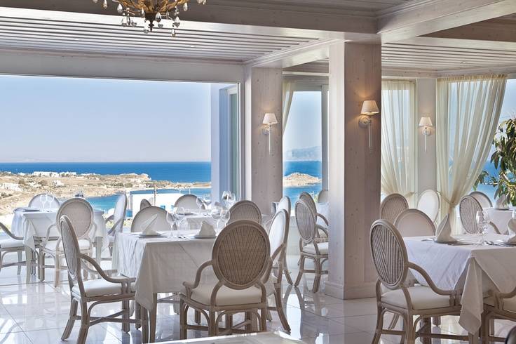 Thymare Restaurant, Palladium Boutique Hotel, Mykonos, Greece