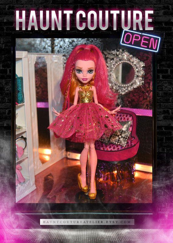 Monster Doll Break Free Gigi dress by HauntCoutureAtelier on Etsy
