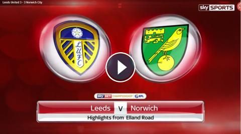 Full-Time: Leeds United vs Norwich City Highlights and All Goals Online - Sky Bet Championship - 29 April 2017 - FootballVideoHighlights.com. You are ...