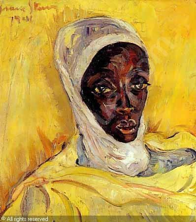 Head of a Zanzibar Woman, Irma Stern
