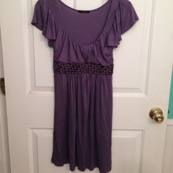 SOPRANO EMPIRE WAIST DRESS SMALL Small. Stretchy dress braided woven empire waist   Excellent shape. Very flattering on Sporano Dresses