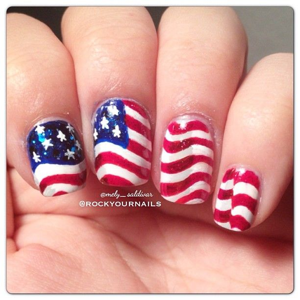 Best 20 nashville 4th of july ideas on pinterest for 4th of july nail art decoration flag