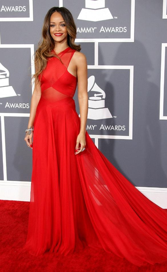 Rihanna #red #celebrity