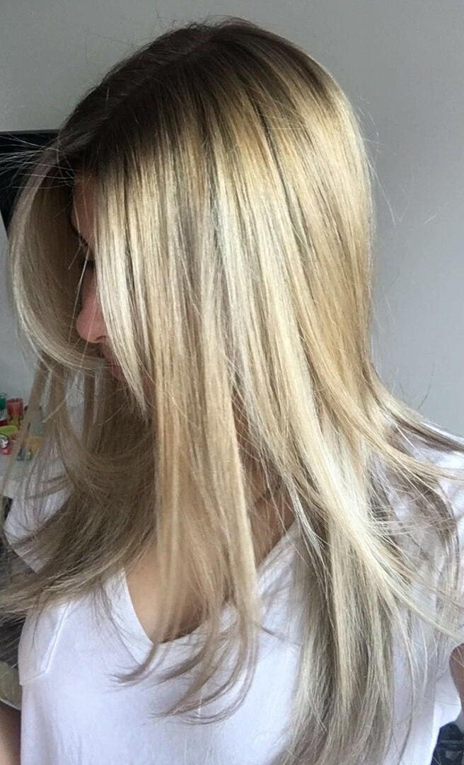 Hair color blond
