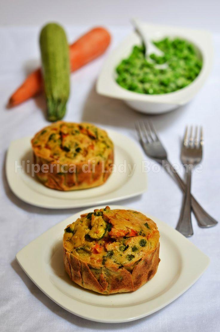 ITALIAN FOOD - TORTINO DI VERDURE AL FORNO (Vegetable Tart)