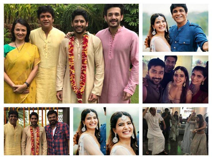 Naga Chaitanya Weds Samantha Photos