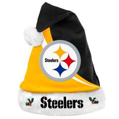Pittsburgh Steelers Santa Hat