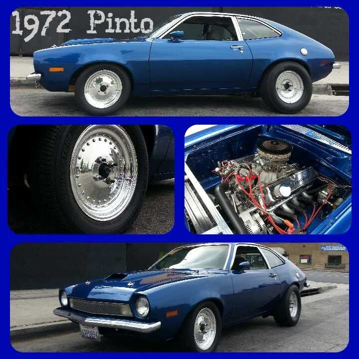 1972 Ford Pinto on Centerline wheels by Wheels N Motion