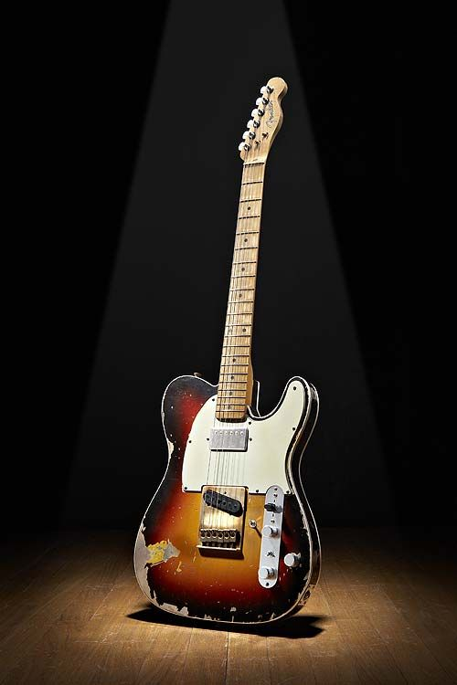 Telecaster, I can not believe that you don't have Stevie Ray Vaughn's guitar on your board ........why? he was amazing..