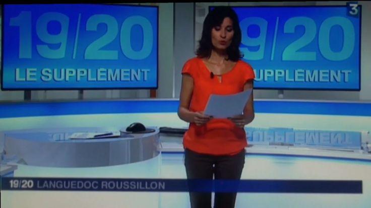 Supplément de l'édition locale France 3  du 16  septembre 2015 - FR- Marbre de caunes