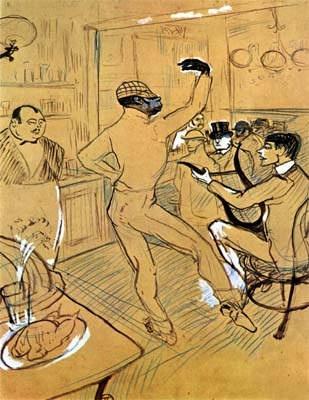 Toulouse Lautrec. Chocolate danceur