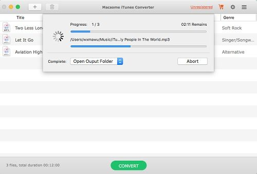 how to use drm itunes server