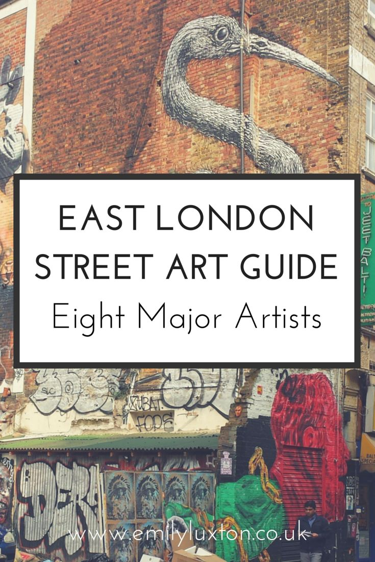 Eight of the biggest names in street art around around Brick Lane and East London - who to look out for and how to spot them.