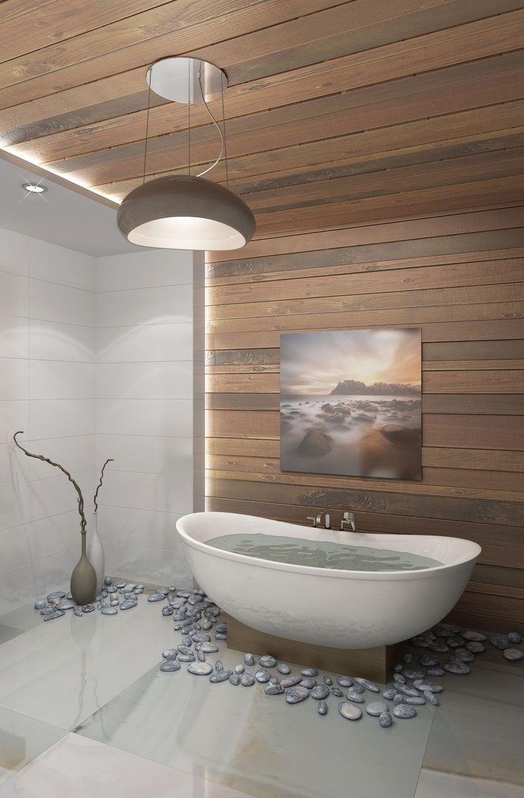 Дерево и камень или ванная мечты - Villeroy & Boch: реализованные проекты и ванная комната мечты   PINWIN - конкурсы для архитекторов, дизайнеров, декораторов
