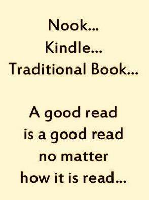 A good read is a good read