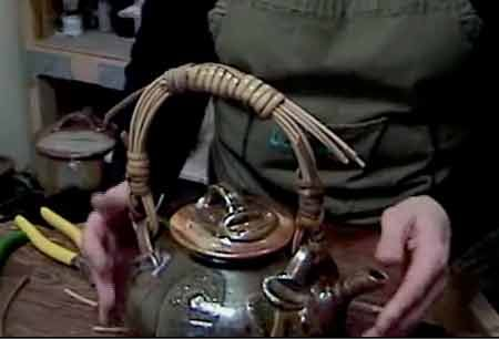 How to Make Custom Cane Handles for Teapots