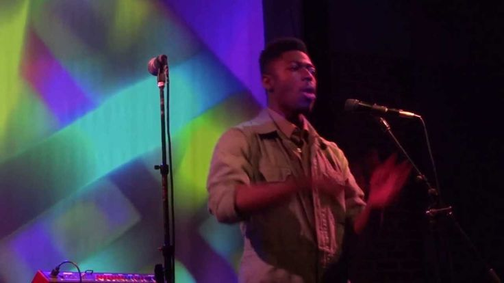 Moses Sumney Performing live at the Bootleg Theater
