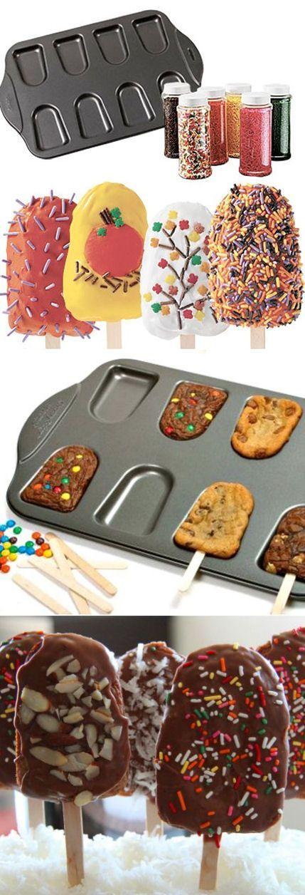 Cakesicle Pan Non-Stick Set ♥ #cooking #kitchen #gadgets
