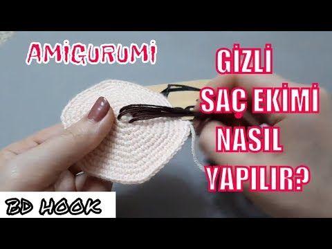 part2   Amigurumi Intimate Hair Transplant   SO MACHEN SIE UNSICHTBARE LOOPS AMIGURU …