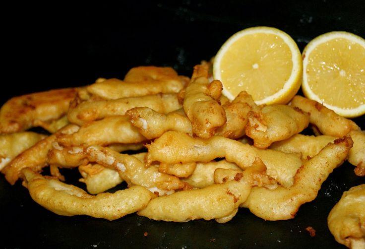 Anna recetas fáciles: Calamares a la romana. Revelamos el secreto de nuestra receta.