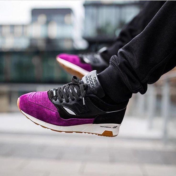 "Boom! New Balance x @solebox 1500 ""Purple Devil"" by @villalobos_105 . #nb1500 #solebox #purpledevil"