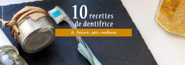 DIY : 10 recettes de dentifrice à faire soi même 100% écologique – DIY Tiptop