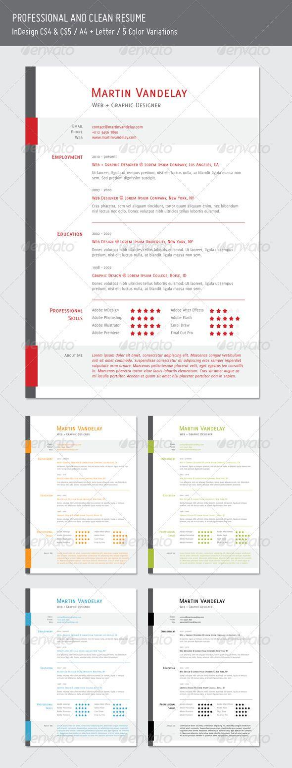 Best Resume Design Images On   Design Resume Editorial