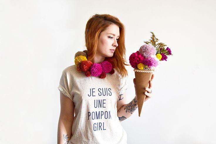 Mamie Boude // Je suis une pompon girl // Poupée rousse