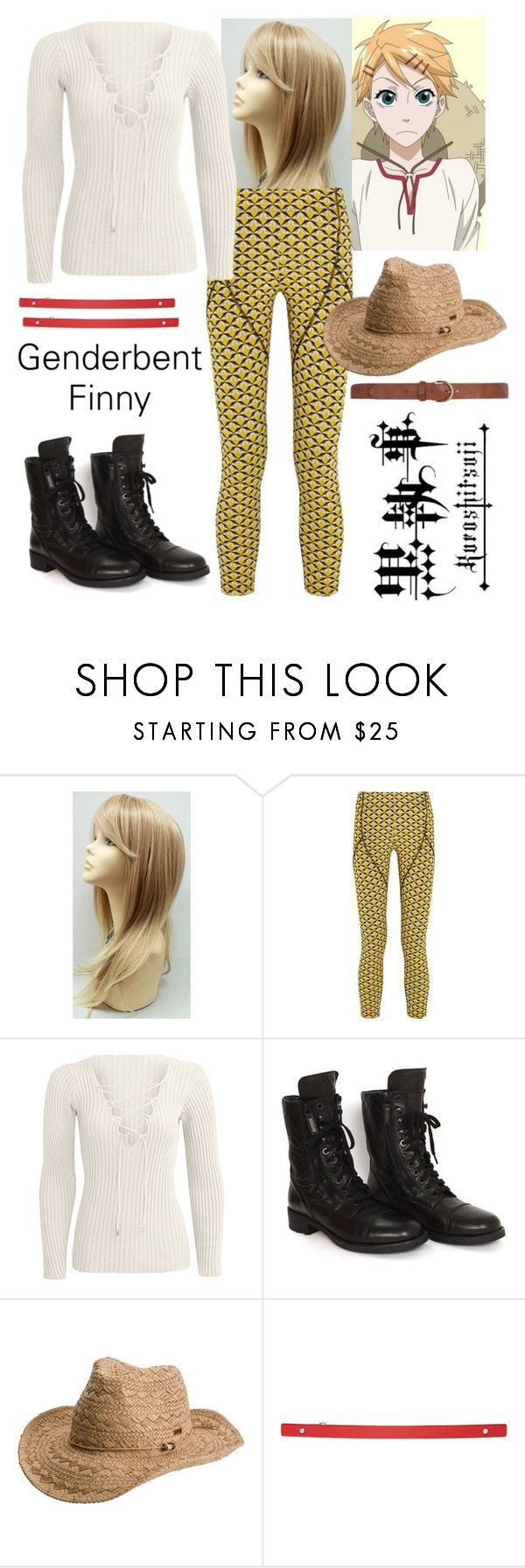 """""""Finnian - Black Butler"""" by mynameis-secret ❤ liked on Polyvore featuring Fendi, Chanel, Roxy, HAIR DESIGNACCESS and Dorothy Perkins"""