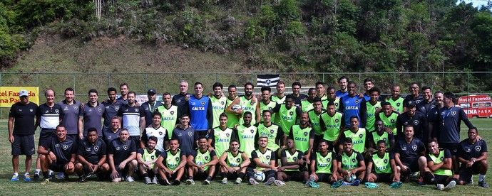 BotafogoDePrimeira: Botafogo vai repetir time na estreia