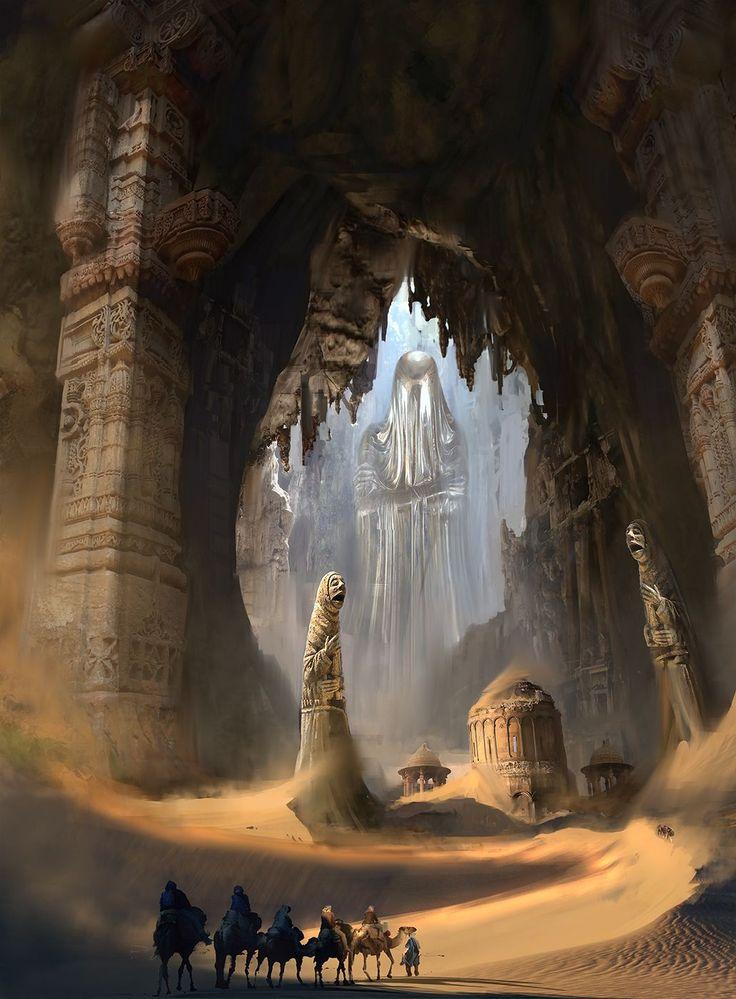 unterirdischer, geheimer Eingang bzw Ausgang für Flüchtige von der Wüste zum Verlassenen Land oder andersrum, Verbindung beider Rebellion Stützpunkte