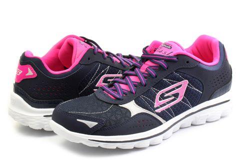 Skechers Topánky - Go Walk 2 - Flash - 13960-NVHP - Tenisky, Topánky, Čižmy, Mokasíny, Sandále
