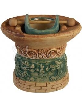Aromalampa Drak, keramika| Dharma – orientálny tovar, ezoterika, liečivé kamene ...