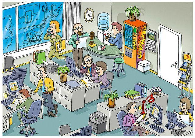 Praatplaat kantoor
