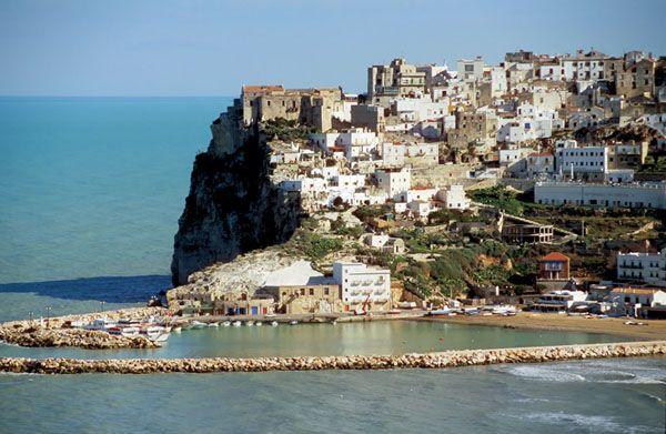 Foggia, Italy -- tiny town on eastern Italian coast where my family was  from.